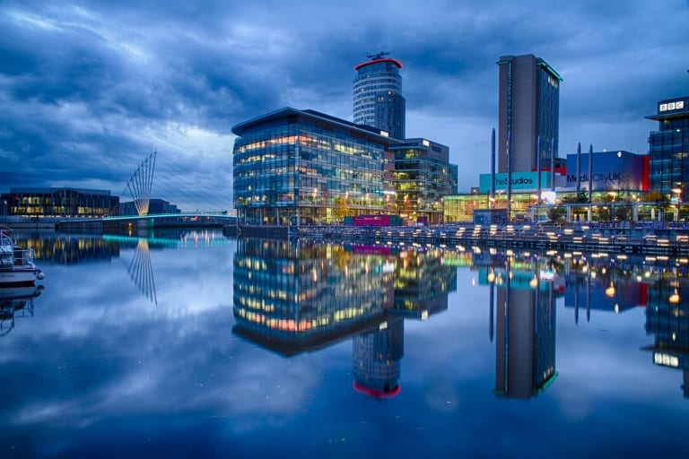 Salford Quay Manchester