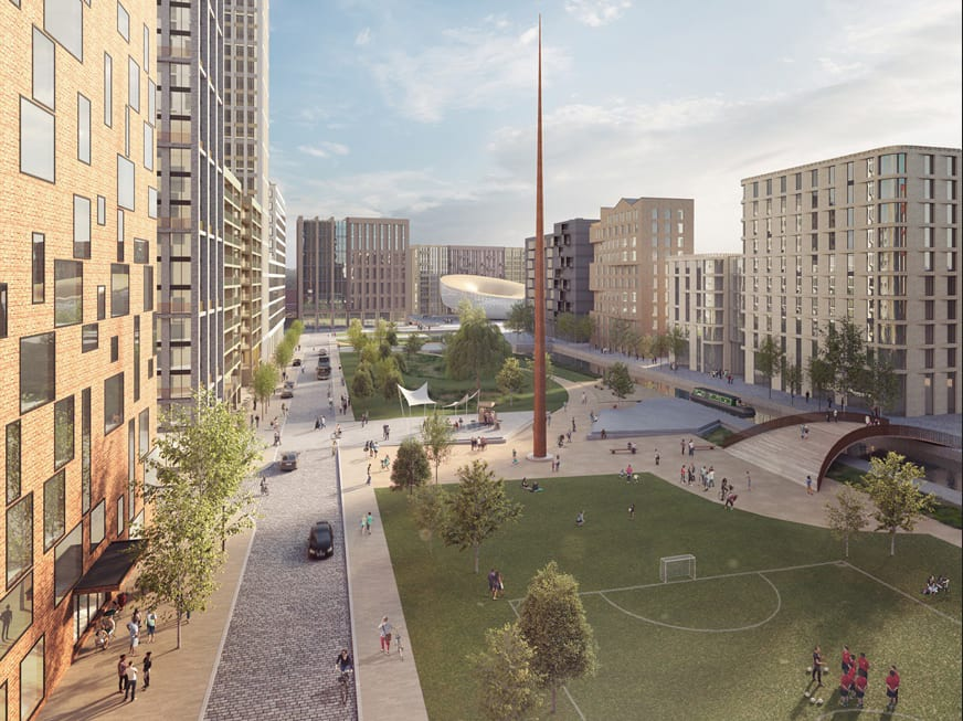 liverpool water central park south CGI