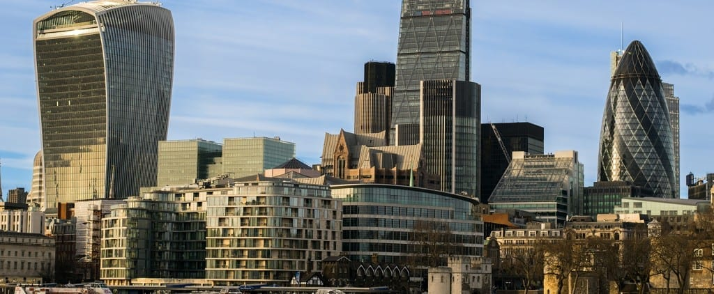 Skyline Image of London City