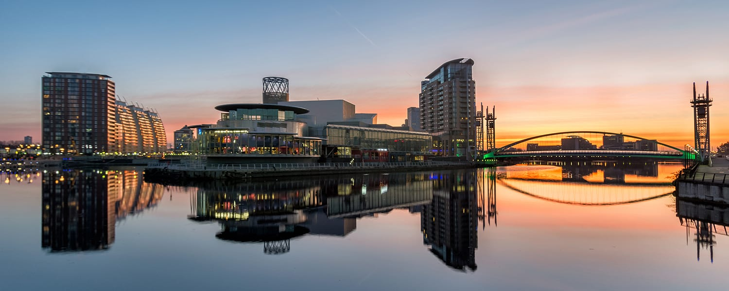 Manchester Property Investment Salford Docks Image