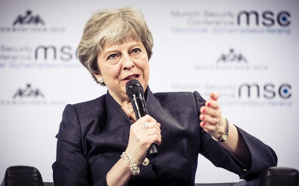 Theresa May UK PM