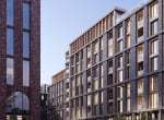 Baltic Place Liverpool street view CGI
