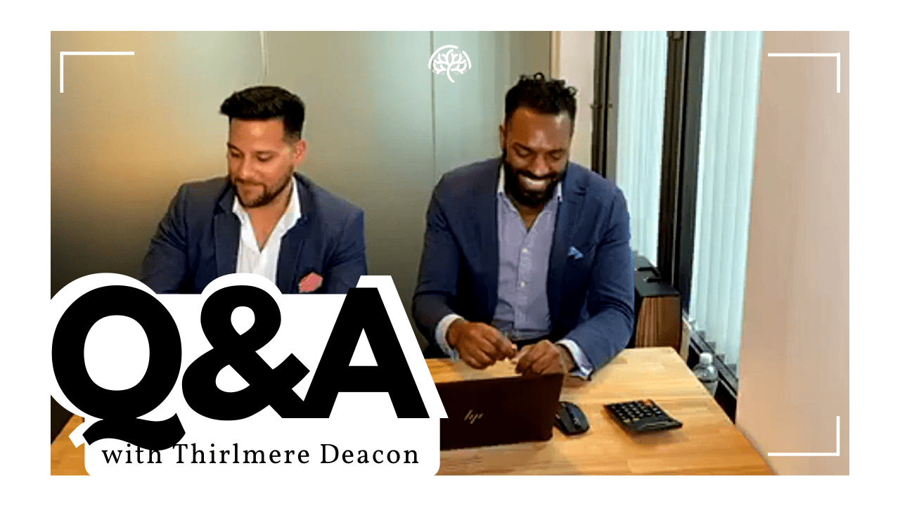 Thirlmere Deacon Q and A